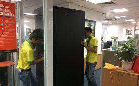 Thi Công Phòng Server – Bkav