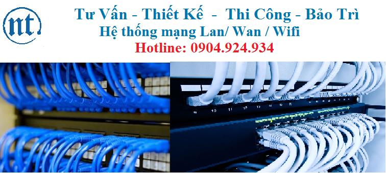 Lắp đặt mạng Lan tại Phạm Văn Đồng