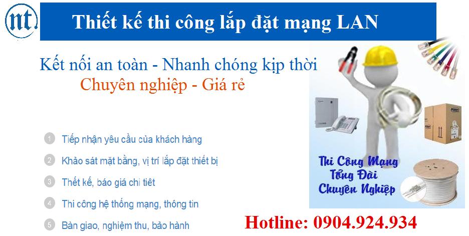 lắp đặt mạng LAN