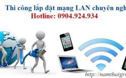 Tại Sao Bạn Nên Thi Công Lắp đặt Mạng LAN Tại Văn Phòng ?