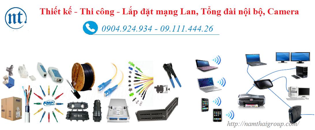 lắp đặt mạng LAN tại Mỗ Lao
