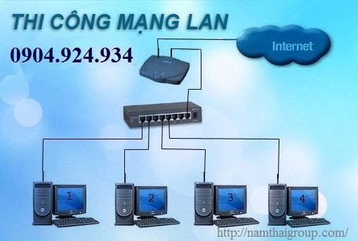 Lắp đặt thi công mạng Lan tại Nguyễn Thị Định