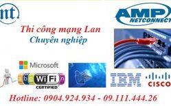 Thiết Kế Thi Công Mạng Và Lắp đặt Mạng LAN Tại Văn Khê