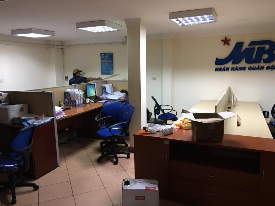 lắp đặt mạng LAN tại ngân hàng MBBank