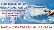Thi Công Lắp đặt Mạng LAN MBBank