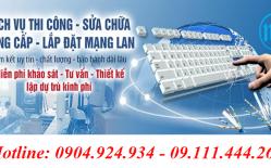 Thiết Kế Lắp đặt Mạng LAN Tại Ngân Hàng MBBank