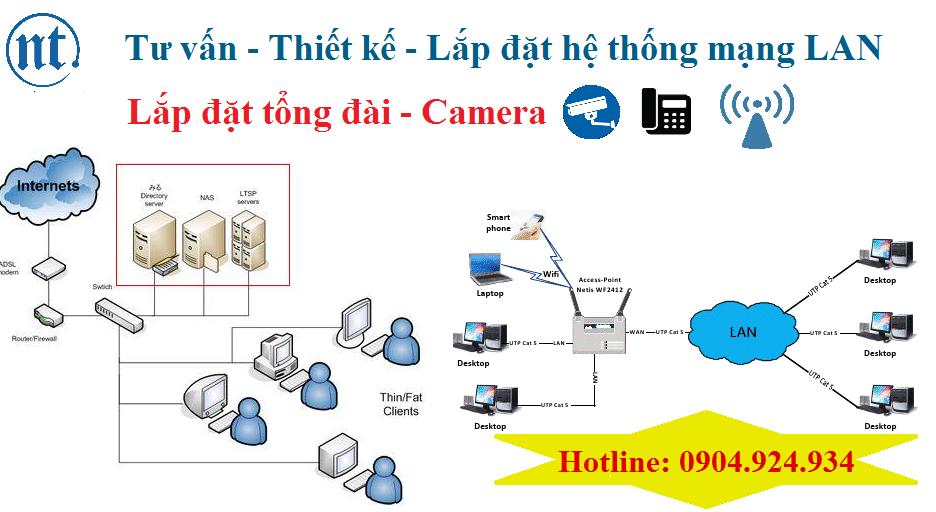 lắp đặt mạng LAN tại ngân hàng TPBank