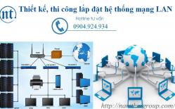Thi Công Lắp đặt Hệ Thống Mạng LAN Cho Công Ty