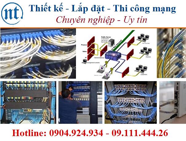 lắp đặt mạng LAN tại ngân hàng SeABank