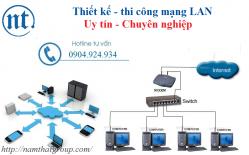 Thiết Kế Và Thi Công Mạng LAN Giá Rẻ