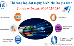 Thi Công Lắp đặt Mạng LAN Cho Hộ Gia đình