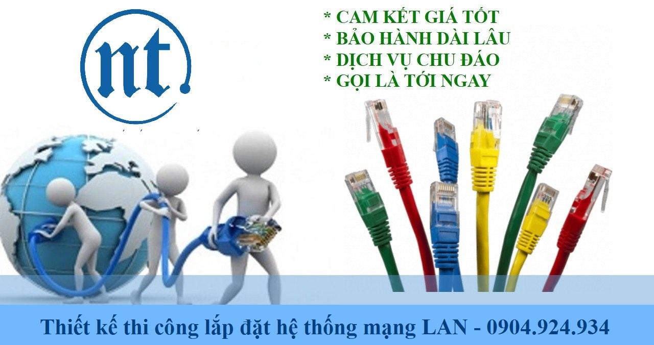 lắp đặt mạng LAN cho ngân hàng ABBank