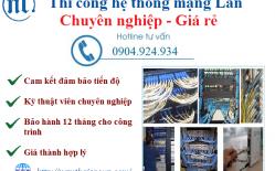 Thiết Kế Lắp đặt Mạng LAN Tại Ngân Hàng Bac A Bank