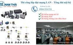 Thi Công Lắp đặt Mạng LAN Tại Ngân Hàng Nam A Bank