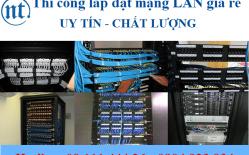 Thi Công Lắp đặt Mạng LAN Cho Ngân Hàng VP Bank