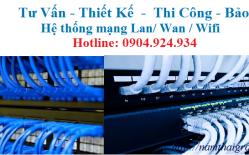Thi Công Lắp đặt Mạng LAN Tại An Binh Bank