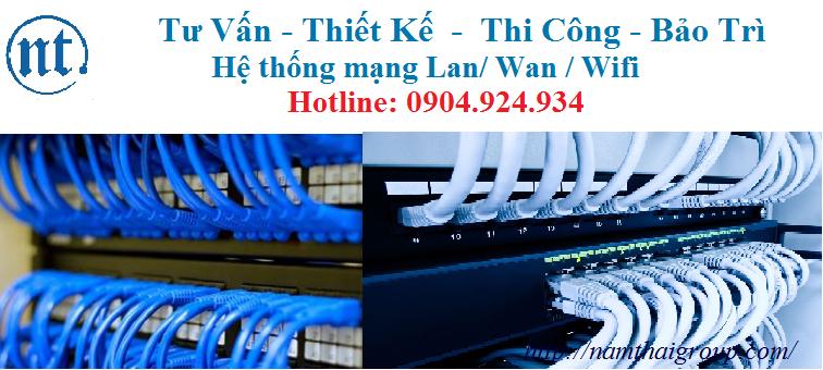 lắp đặt mạng LAN tại An Binh Bank