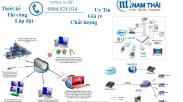 Thi Công Mạng LAN DongA Bank