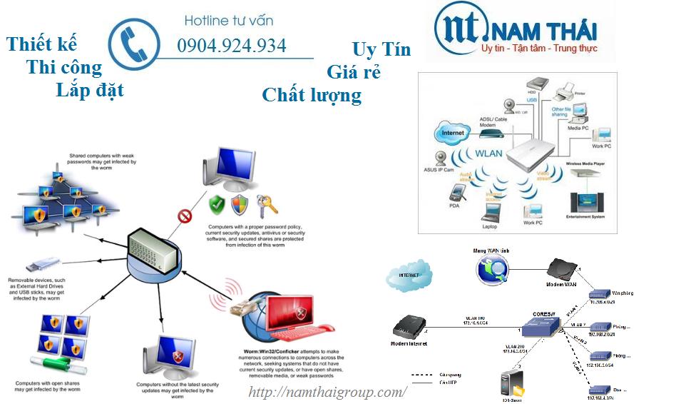 Thi Công Lắp đặt Mạng LAN Tại Ngân Hàng DongA Bank