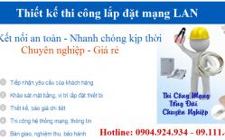 Thi Công Lắp đặt Mạng LAN Tại Lò Đúc